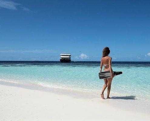 crociere snorkeling alle Maldive con Macana