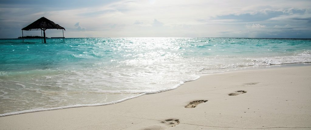 spiagge e sabbia Maldive