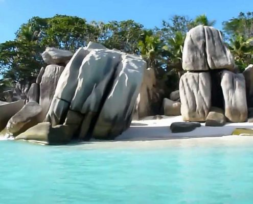 spiaggia Seychelles La digue