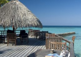resort Maldive vista mare